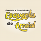 Logotipo Corrida e Caminhada Esquenta do Arraial
